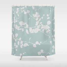 Climbing Leaves Shower Curtain