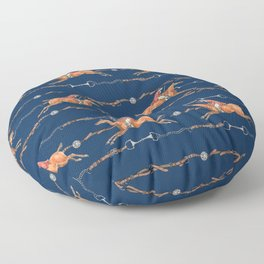 HORSE AND RIDER Floor Pillow