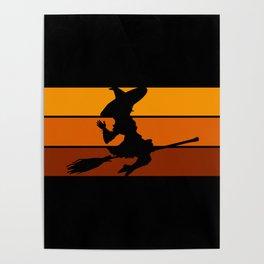 Witch - Orange Poster