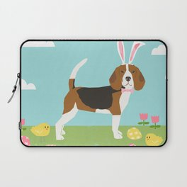 Beagle easter bunny spring dog gifts beagles must haves Laptop Sleeve