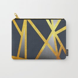 Dancing Goldlines Carry-All Pouch