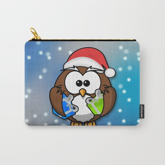 Christmasowl Carry-All Pouch