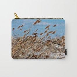 Tame a Wild Wind- horizontal Carry-All Pouch
