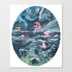 Water Gods Canvas Print