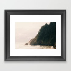 Into The Sea Framed Art Print