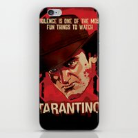 tarantino iPhone & iPod Skins featuring TARANTINO Unchained by Jesus De La Mora