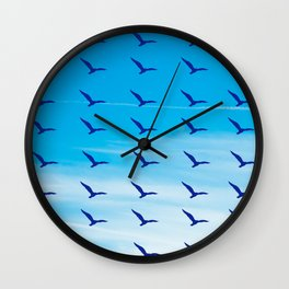 Seagull Sky Wall Clock