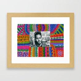 Twin Shadow  Framed Art Print