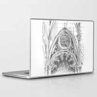 gothic Laptop & iPad Skins featuring gothic by Tereza Del Pilar