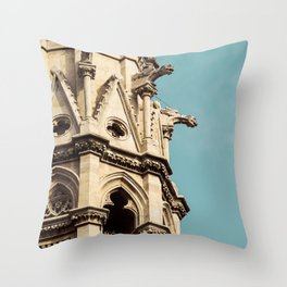 Gothic Tower Throw Pillow