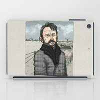 fargo iPad Cases featuring Lorne Malvo, Billy Bob Thornton at Fargo series by suPmön