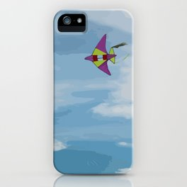 Kite Vector iPhone Case
