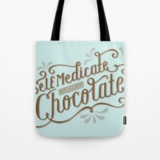 Chocolate RX Tote Bag
