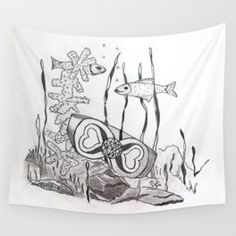 The Symbol of Eternal Love Wall Tapestry