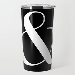 AMPERSAND B&W Travel Mug