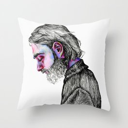 Keaton Henson Throw Pillow