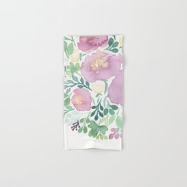 Pink and Green Hand & Bath Towel