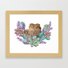 Desert Dragon Framed Art Print