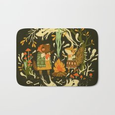 Animal Chants & Forest Whispers Bath Mat