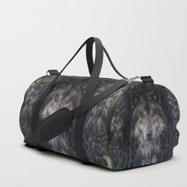 The Winter is here - Wolf Dreamcatcher Duffle Bag