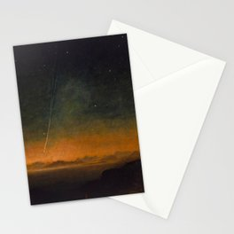 Smyth - The Great Comet of 1843 Sunset Magical Stars Stationery Cards