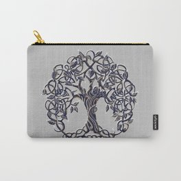 Tree of Life Silver Carry-All Pouch