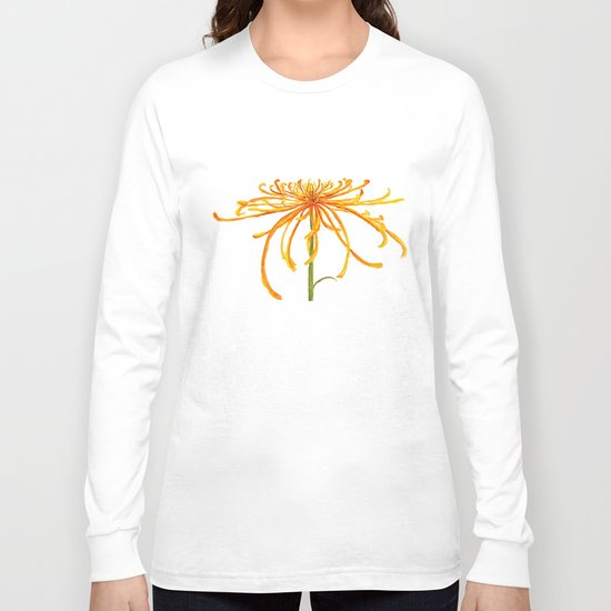 one orange chrysanthemum Long Sleeve T-shirt
