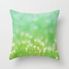 Never Land Throw Pillow