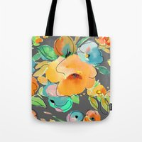 fall Tote Bags featuring fall by Ariadne