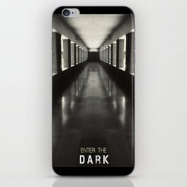 Enter the dark iPhone Skin