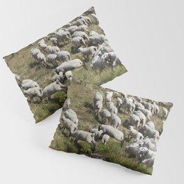 Leaping Lambs Pillow Sham
