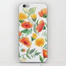 Spring Wildflowers iPhone Skin