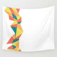 bar Wall Tapestries featuring Geometric Bar by SAM.Designs
