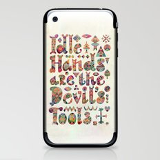 Devil's Tools iPhone & iPod Skin