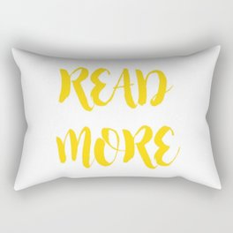 READ MORE.  Rectangular Pillow