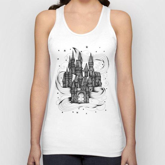 Super Magic Dream Castle Unisex Tank Top