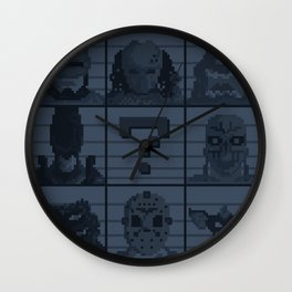 Select your character Wall Clock
