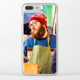 Cheese Please Clear iPhone Case