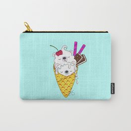 Polar Bear Ice Cream – Shh, they're sleeping Carry-All Pouch