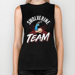 Swolverine Team Biker Tank