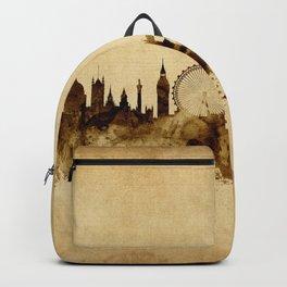 London England Skyline Backpack