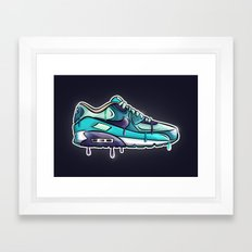 Nike air drop Framed Art Print