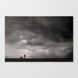 Before storm Canvas Print