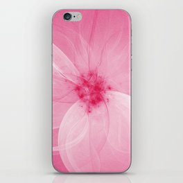 Pink Fairy Blossom Fractal iPhone Skin