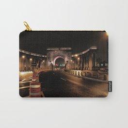 manhattan bridge at night Carry-All Pouch
