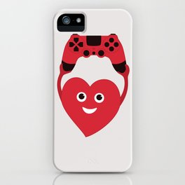 Gaming Heart iPhone Case