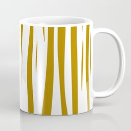 gold lines on white. gold eth. lines Coffee Mug