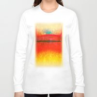 rothko Long Sleeve T-shirts featuring After Rothko 8 by Gary Grayson