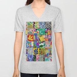 Henri Matisse Montage Unisex V-Neck