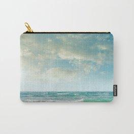 beach love tropical island paradise Carry-All Pouch